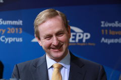 Enda Kenny Obrazy Stock