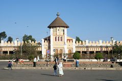 Enda Mariam coptic cathedral in asmara eritrea Stock Photo