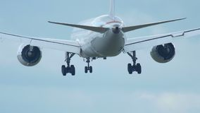 Endanflug stock video