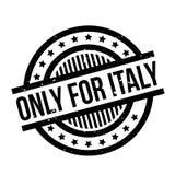 Endast för Italien den rubber stämpeln royaltyfri illustrationer