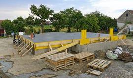 Endast platta för betong Royaltyfri Foto