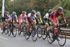 Ende an Böhmen-Radtour 2013 Stockbild
