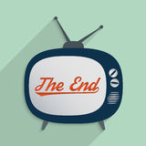 Ende der Geschichte stock abbildung
