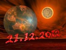 Ende der Mayaprophezeiung der Welt Stockfoto