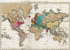 Ende des allgemeinen Friedens im Jahre 1828 Lizenzfreie Stockfotos