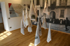 Ende des Kriegs-Museums lizenzfreie stockbilder