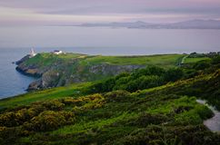 Ende des Nachmittages in Howth stockfoto