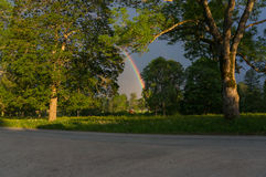 Ende des Potenziometers des Rainbow Stockbilder