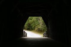 Ende des Tunnels Stockbild