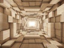 Ende des Tunnels Lizenzfreies Stockfoto
