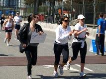Ende des Vancouver-Marathons Stockfoto