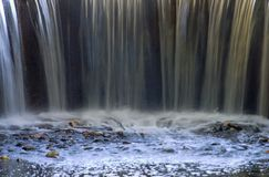 Ende des Wasserfalls Lizenzfreie Stockfotos