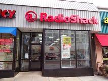 Ende von Radio Shack stockfotos