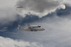 Endeavor Space Shuttle Royalty Free Stock Images