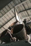 Endeavor Space Shuttle Engine. On exhibit at the L.A. County Museum Stock Photography