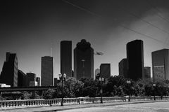 Endeavour's Journey Downtown Houston Stock Images