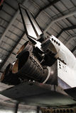 Endeavour Space Shuttle. Los Angeles, CA - OCTOBER 12, 2016: Endeavour Space Shuttle in California Science Center on OCTOBER 12, 2016 Stock Image