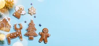 Endecha del plano del ornamento de los días de fiesta de la Navidad; Fondo de la tarjeta de Navidad imagen de archivo