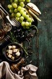 Endecha mediterránea italiana apetitosa sabrosa del plano de los ingredientes alimentarios Fotografía de archivo libre de regalías
