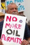 Enden-Öl jetzt Lizenzfreies Stockbild