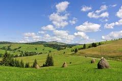 Endensommer in Karpaty, Lizenzfreie Stockfotografie
