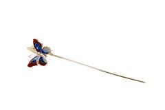 Endereço da Internet da borboleta Fotos de Stock