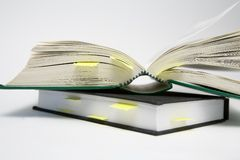 Endereços da Internet nos livros Fotografia de Stock