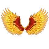 Enderece las alas de la Phoenix. Fotos de archivo