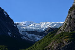 Endicott Arm. Cruising through Endicott Arm to the Dawes Glacier in Alaska, USA Royalty Free Stock Photos