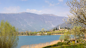 Endine lake view Stock Photography