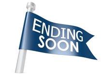 Ending soon flag Stock Photography