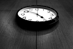 Ending Working Time.. Royalty Free Stock Photography