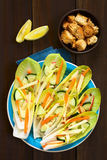 Endive and Vegetable Salad Royalty Free Stock Images
