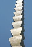 The Endles Column of Constantin Brancusi Stock Photos