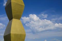 Endles Column of Constantin Brancusi Stock Photo