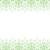 Endless abstract background border frame Royalty Free Stock Photo
