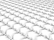 Endless airplanes fleet Royalty Free Stock Images