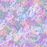 Endless background with colorful spots. Royalty Free Stock Photos
