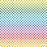Endless background dots colorful Stock Photo