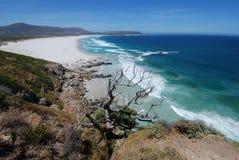 Endless beach , Noordhoek. Pristine Noordhoek Beach near Cape Point, South Africa Stock Image