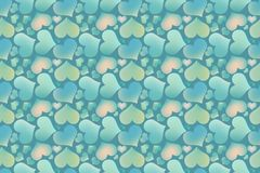 Endless blue romantic simple pattern. Stock Photography