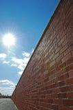 Endless brick wall Stock Images