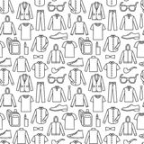 Endless clothes background Royalty Free Stock Image