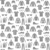 Endless clothes background Royalty Free Stock Photos