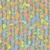 Endless colorful color spots. Stock Photo