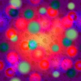 Endless colorful spots pattern Royalty Free Stock Photos