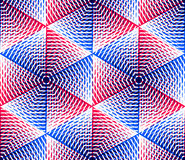 Endless colorful symmetric pattern, graphic design. Geometric in Royalty Free Stock Image