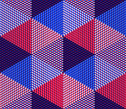 Endless colorful symmetric pattern, graphic design. Geometric in Stock Images