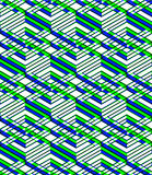 Endless colorful symmetric pattern, graphic design. Geometric in Royalty Free Stock Images