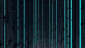 Endless dark technology background stock video footage